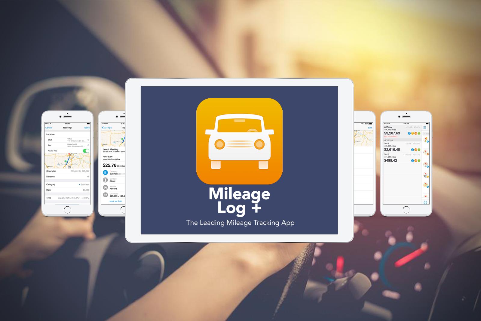 Mileage Log +